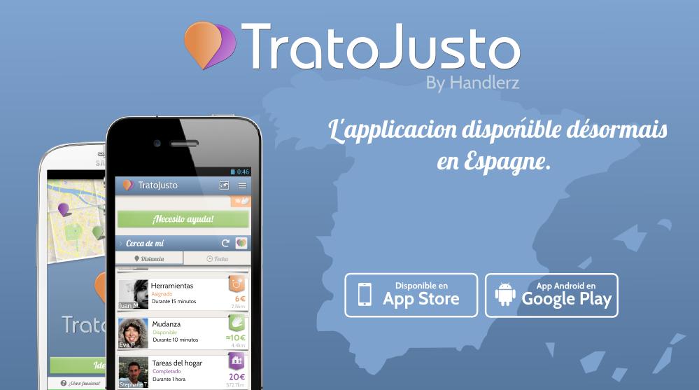 TratoJusto by Handlerz disponible en Espagne